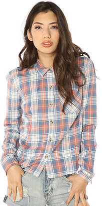 Obey The Jackson Plaid Tomboy Top