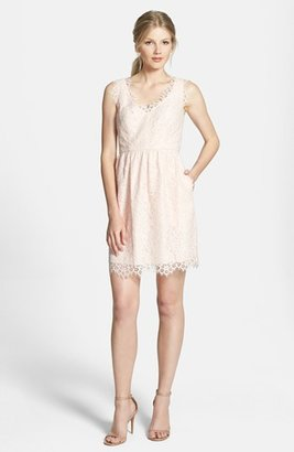 Shoshanna 'Sierra' Lace Fit & Flare Dress