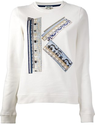 Kenzo 'K' logo sweater