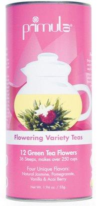 Primula Flowering Teas 12 Green Tea Variety Pack