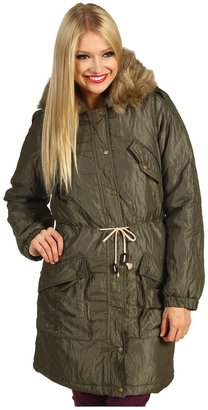 D.E.P.T Fancy Nylon Coat (Root Green) - Apparel
