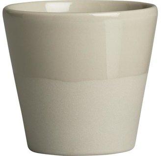 Leone Grey Double Espresso Cup
