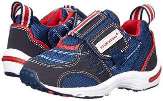 Tsukihoshi Euro (Toddler/Little Kid) (Navy/Red) Boys Shoes