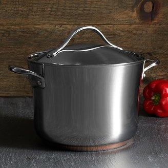 Anolon Nouvelle Stainless Steel 6.5-Quart Covered Stock Pot