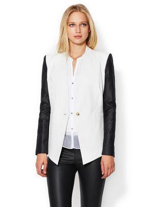 Helmut Lang Era Linen Suiting Blazer