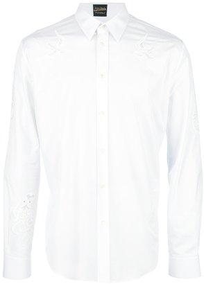 Jean Paul Gaultier sailor broderie anglaise shirt