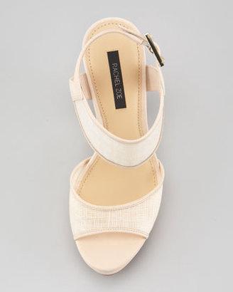 Rachel Zoe Lexi Raffia Platform Sandal