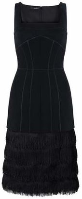 Amanda Wakeley Aluna Fringe Dress