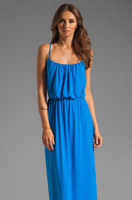 Susana Monaco Light Supplex Blouson Tank Dress