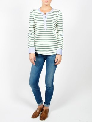 Band Of Outsiders Stripe Henley