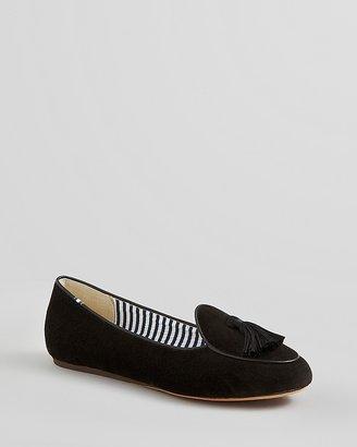 Charles Philip Smoking Flats - Oli Velvet Loafer