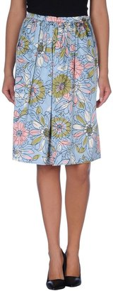 JUCCA Knee length skirts $141 thestylecure.com