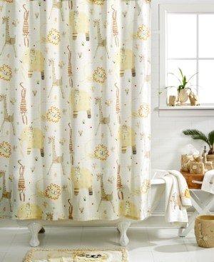 Creative Bath Accessories, Animal Crackers Shower Curtain Bedding
