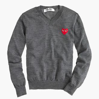 J.Crew PLAY Comme des Garçons® V-neck sweater