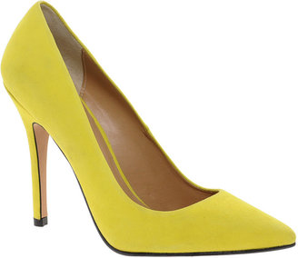 Whistles French 75 Yellow Court Shoes