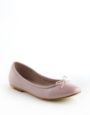 Bloch Fonteyn Leather Ballet Flats