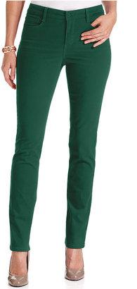 Jones New York Signature Petite Jeans, Skinny Colored