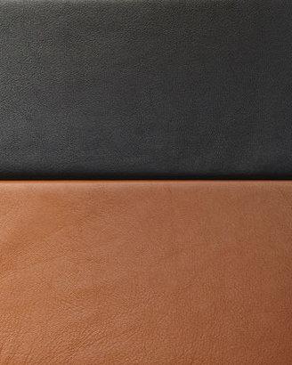 Rachel Zoe Janette Short-Sleeve Leather Blouse