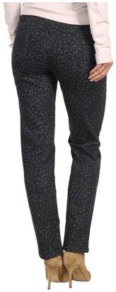 Miraclebody Jeans Sandra D. Skinny Ankle Jean Leopard Print (Millstone (Leopard Print)) - Apparel