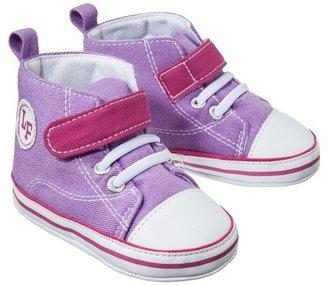 Luvable Friends™ Infant Girls' Hi-Top Sneaker - Purple