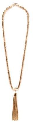 MANGO Tassel Pendant Necklace