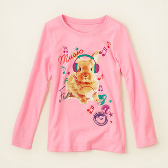 Children's Place Fun bunny graphic tee