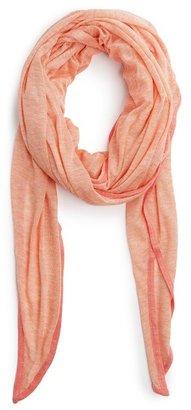 MANGO TOUCH - Flecked trim foulard