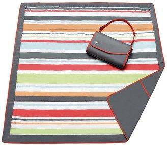 JJ Cole striped fold-up outdoor blanket