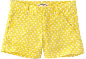 Osh Kosh dotted shorts - girls 4-6x