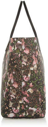 Givenchy Antigona shopping bag in floral-print faux leather