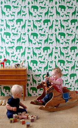 ferm LIVING Animal Farm Wallpaper