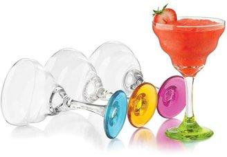 Libbey Colors Margarita Glasses