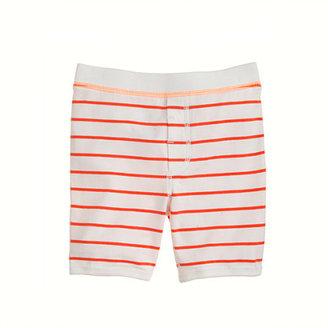 Lee Boys' short-sleeve sleep set in thin stripe