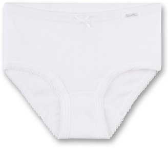 Sanetta Girl's Knickers White - Wei (10) 3 to 4 Years(Manufacturers Size:104 )