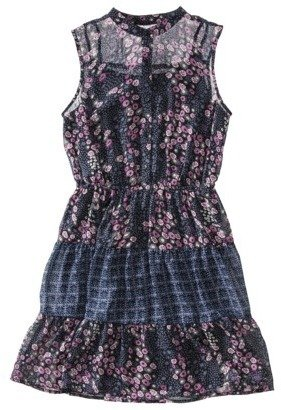 Mossimo Juniors Sleeveless Button Front Dress - Assorted Colors