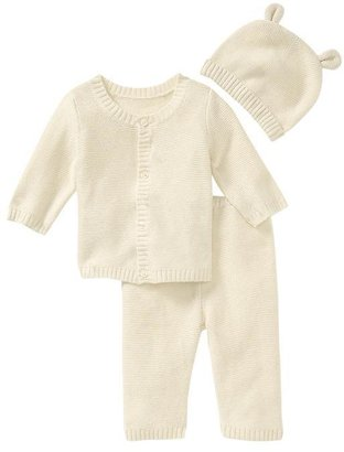 Gap Favorite garter-stitch knit 3-piece set