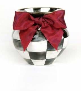 Mackenzie Childs MacKenzie-Childs Courtly Check Vase