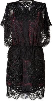 Just Cavalli Embellished Lace Dress