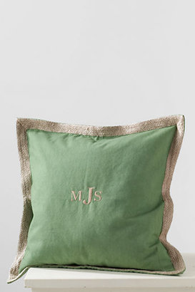 Lands' End 20 x 20 Decorative Trim Pillow Cover