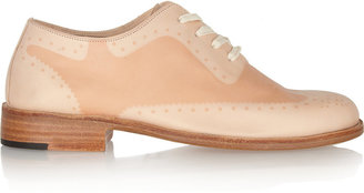 Esquivel Suntanned leather brogues