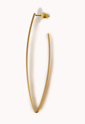Forever 21 Minimalist Bent Hoops