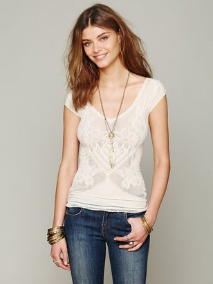 Free People Seamless Tupelo Honey Top