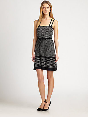 M Missoni Space-Dye Camisole Dress