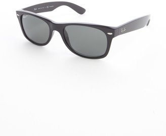 Ray-Ban black plastic 'New Wayfarer' sunglasses