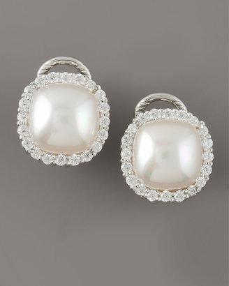 Majorica Pearl Post Earrings