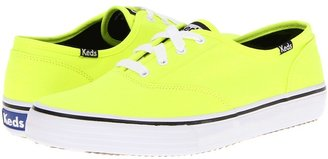 Keds Double Dutch Neon (Neon Yellow) - Footwear