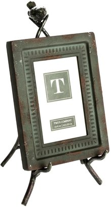 """Twos Company Two's Company Garden Views Easel Photo Frame - 4x6"""""""