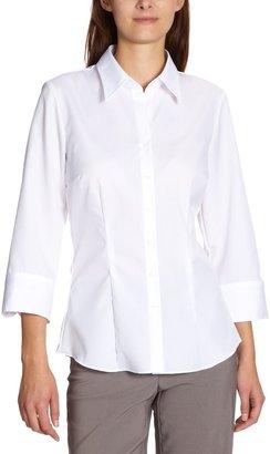 Seidensticker Women's 3/4 sleeve Blouse - White - Wei (01) - 16 (Brand size: 42)