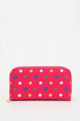 Kimchi & Blue Kimchi Blue Dual Zip-Around Checkbook Wallet