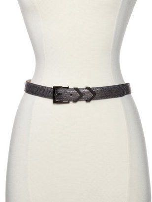 Vince Camuto Women's Three Piece Leather Skinny Belt
